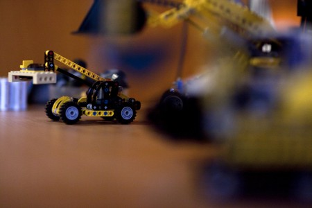 Legokran