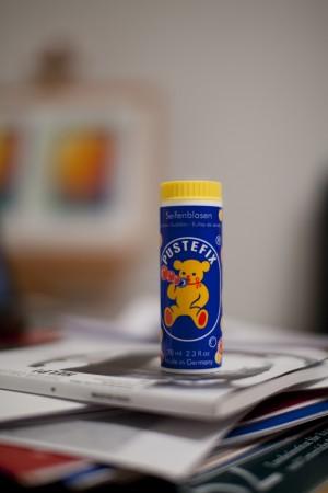 Der gelbe PusteBär